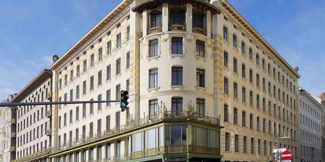 Vergoldung und Restaurierung der Fassade Wienzeile 38