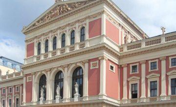 Vergoldungen im Wiener Musikverein