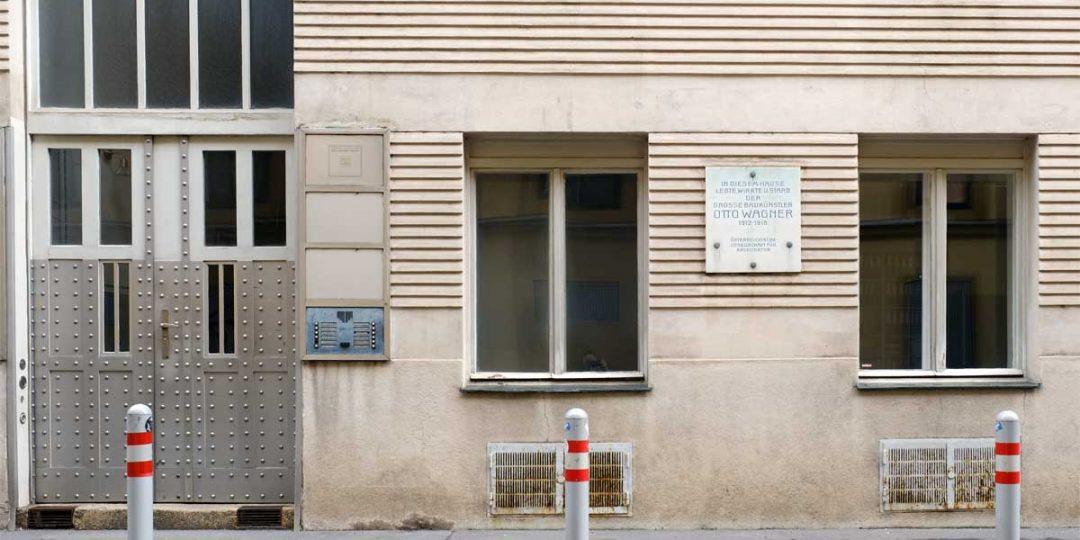 Metallisierungen in einer Jugendstilwohnung Otto Wagners